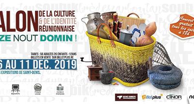 Salon de la culture et de l'identité réunionnaise – 6 au 11 décembre 2019